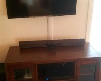 Newer Sony TV and TV cabinet