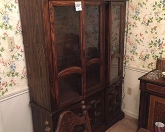China cabinet would be $75