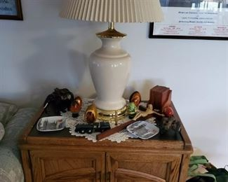 Lamps and decor. Ceramic Egg Collectibles