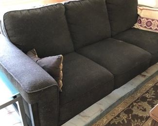 Modern Grey flannel sofa