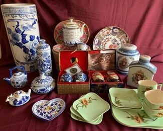 asian inspired china
