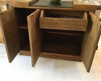 Inside of Bar/Cabinet