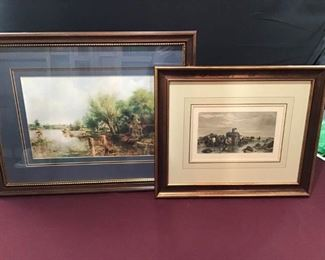 A Lovely Pair of Pastoral Prints