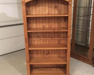 Beautiful Pine Bookshelf