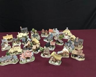David Winter Mini Cottages I