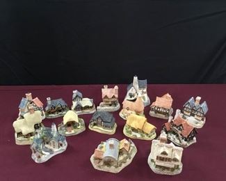 David Winter Mini Cottages III