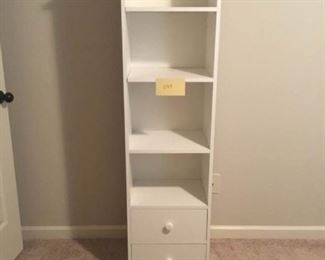 Simple White Shelves