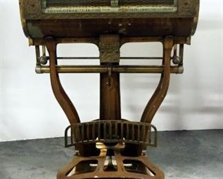 The Computing Scale Co. 28 lb. Limit Barrel Store Scale