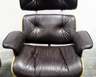 "Extra Wide Leather Office Armchair 40"" High x 34.5"" Wide"