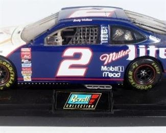 Rusty Wallace #2 Miller Lite Ford Taurus 1:18 Diecast With COA, Jason Leffler #2 CarQuest Dodge Race Truck 1:24, Carl Edwards #99 Office Depot 1:24