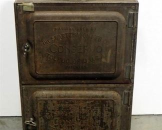 "Swartzbaugh Mfg Co ""Conservo"" Cooker Canner Steamer, Patented 1907"
