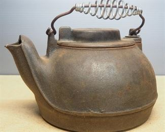 Wagner Ware Cast Iron Tea Kettle