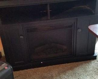 fireplace $100, printer $20, lamp $20