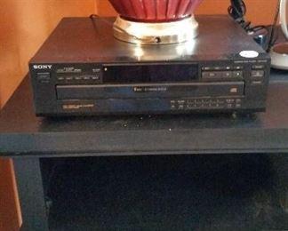 cd player  $20, lamp $20