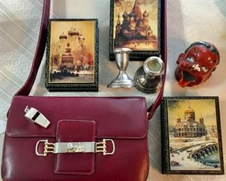 Russian Boxes and Fun Collectibles