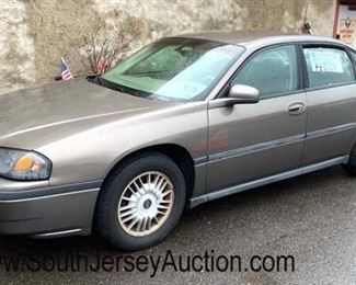 """2001 Chevy Impala """"1 owner"""", new tires, oil changed every 4,000 miles, 82k miles"""