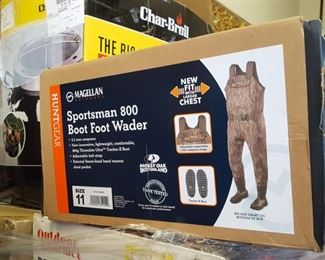 Magellan outdoor gear including Boot Foot Waders