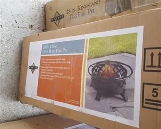 Firepits - different styles to chose from
