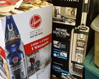 Hoover and Shark Vacuums