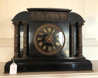 A. Stowell and Company Mantle Clock