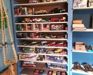 Die Cast Cars and Banks