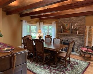 Stanley (high quality) Dining Table and Chairs