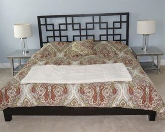 TUFT AND NEEDLE KING SIZE BED AND MATTRESS.