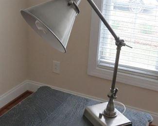 POTTERY BARN DESK LAMP.