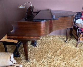 Baldwin Grand Piano 133713  with bench $300