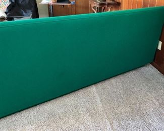 MCM Shamrock Green Sofa/Couch33x95x32inHxWxD