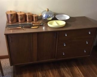 Wooden Hutch and More