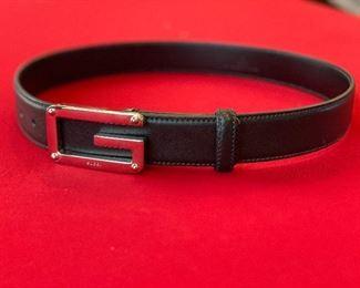 Authentic Gucci belt men's size 32 never worn