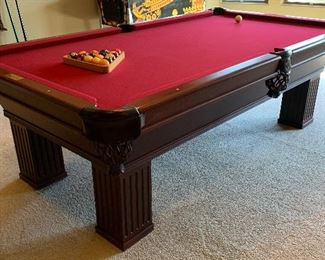 8ft Connelly Billiards Pool Table	31x54x98in	HxWxD