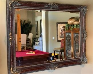 Huge Ornate Carved Frame Wall Mirror62x84x5inHxWxD