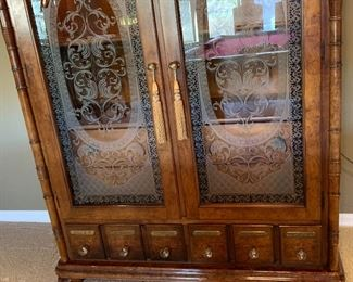 Apothecary Style Cabinet/Dresser70x47x21in7HxWxD