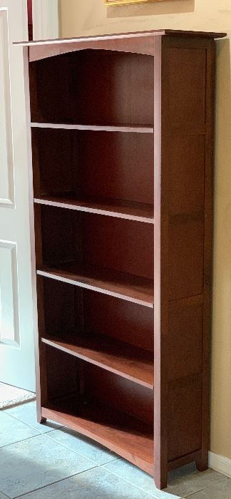 Cherrywood Bookshelf72x39.5x13inHxWxD