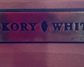 Hickory White Bombe Style dresser59x41x20inHxWxD