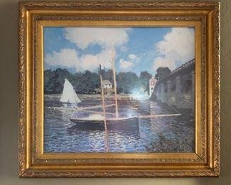 Framed Print Sailboat