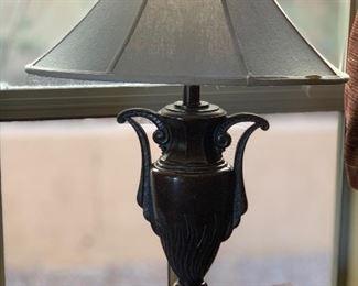 Single Metal Vase Lamp