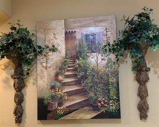 Lg entryway painting