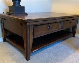 AS-IS Coffee Table18x30x52inHxWxD