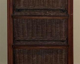 3drawer Basket Cab34x18x15inHxWxD
