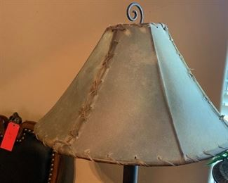 Metal & Glass Urn Decor