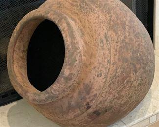 Lg Side Mount Decor Pot