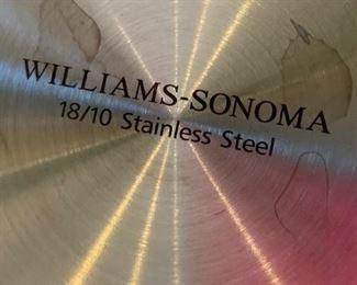 8pc Williams-Sonoma Stainless Steel Mixing Bowl Set