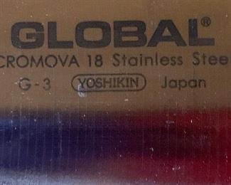 Global Cromova Partial Knife Set