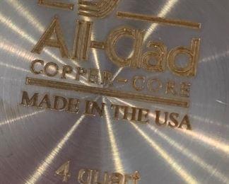 All-Clad Copper Core 4qt Sauce Pan