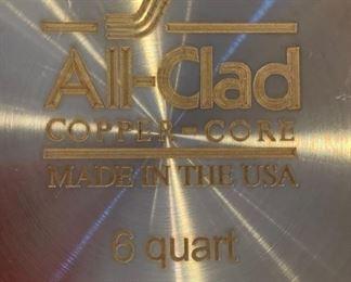 All-Clad Copper Core 6qt Pan