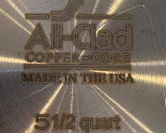 All-Clad Copper Core 5.5qt Round Bottom