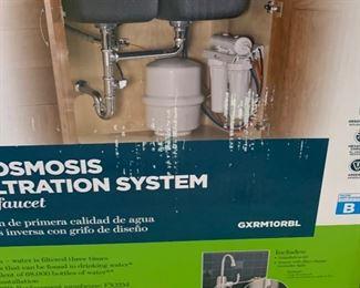 GE Reverse Osmosis GXRM10RBL NIB